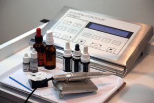 dit is een foto van de apparatuur voor permanente make-up - van Janny Hanegraaf, eigenaar van Permanent Mooi