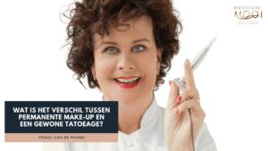 Dit is een video over Wat is het verschil tussen permanente make-up en een gewone tatoeage, Permanent Mooi